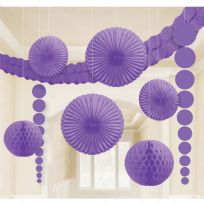Purple Room Decoration Kit (9)